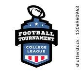 football college tournament... | Shutterstock . vector #1306960963