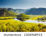 the magical valley of the... | Shutterstock . vector #1306968913