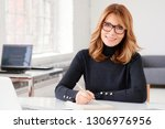 close up portrait shot of... | Shutterstock . vector #1306976956