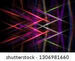 abstract background colorful... | Shutterstock . vector #1306981660