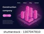 construction company concept....