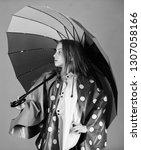 waterproof accessories make... | Shutterstock . vector #1307058166