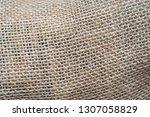 texture of coarse thread...   Shutterstock . vector #1307058829