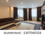 interior of a spacious modern... | Shutterstock . vector #1307060326
