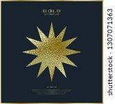 premium quality golden label... | Shutterstock .eps vector #1307071363