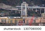 genova  genoa  italy   february ... | Shutterstock . vector #1307080000