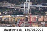genova  genoa  italy   february ... | Shutterstock . vector #1307080006