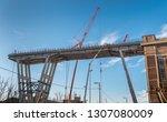 genova  genoa  italy   february ... | Shutterstock . vector #1307080009
