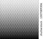 black and white hexagon pattern ... | Shutterstock .eps vector #1307089306
