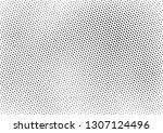 grunge halftone background ...   Shutterstock .eps vector #1307124496