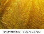 shimmery wavy liquid cosmetic... | Shutterstock . vector #1307136700