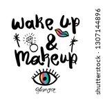inspirational motivational... | Shutterstock .eps vector #1307144896
