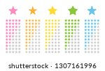 five star review icon rating ...