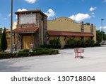 Recession - Restaurant - stock photo
