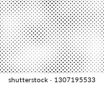 grunge halftone background ... | Shutterstock .eps vector #1307195533