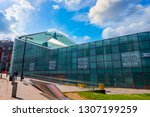 manchester  uk   may 18 2018 ... | Shutterstock . vector #1307199259