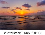 Painting Sea Sunset. The Sea At ...