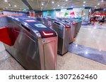 singapore  may 15 2018   mass... | Shutterstock . vector #1307262460