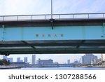 tokyo  japan. 2018 oct 24th....   Shutterstock . vector #1307288566