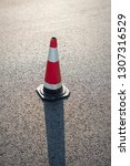 asphalt road barrier highway... | Shutterstock . vector #1307316529