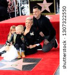 Small photo of LOS ANGELES - FEB 5: Willow Hart, Jameson Hart, Pink, Carey Hart at the Pink Star Ceremony on the Hollywood Walk of Fame on February 5, 2019 in Los Angeles, CA