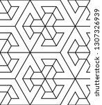vector seamless texture. modern ... | Shutterstock .eps vector #1307326939
