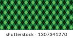 classic argyle pattern... | Shutterstock .eps vector #1307341270