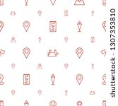 gps icons pattern seamless...