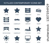 contemporary icons. trendy 16...   Shutterstock .eps vector #1307354929