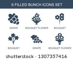 bunch icons. trendy 6 bunch... | Shutterstock .eps vector #1307357416