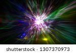 abstract background. explosion... | Shutterstock . vector #1307370973