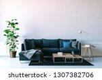 3d render of beautiful interior ... | Shutterstock . vector #1307382706