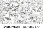 halftone grunge dotted rough... | Shutterstock .eps vector #1307387170