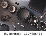 car audio  car speakers ...   Shutterstock . vector #1307406493