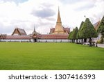 view of the grand palace and...   Shutterstock . vector #1307416393