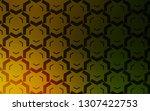 dark green  yellow vector...   Shutterstock .eps vector #1307422753