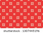 red color. old paper background.... | Shutterstock .eps vector #1307445196