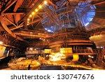 metallurgic production  blast... | Shutterstock . vector #130747676
