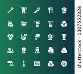 mixing icon set. collection of...   Shutterstock .eps vector #1307552326