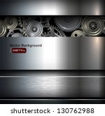 background metallic with... | Shutterstock .eps vector #130762988