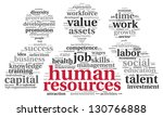 hr   human resources concept in ...   Shutterstock . vector #130766888