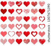 collection of different...   Shutterstock .eps vector #1307671390