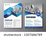 business abstract vector... | Shutterstock .eps vector #1307686789