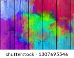 abstract colorful pastel with... | Shutterstock . vector #1307695546