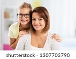 people and family concept  ... | Shutterstock . vector #1307703790