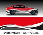 car wrap company designs vector  | Shutterstock .eps vector #1307722303