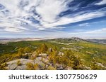 beautiful valley of rocky... | Shutterstock . vector #1307750629