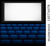 cinema. vector illustration. | Shutterstock .eps vector #130776578