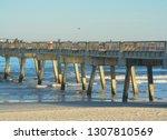 The Jacksonville Beach Pier On...