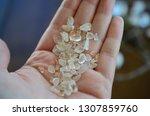 meditation grid kit. quartz... | Shutterstock . vector #1307859760
